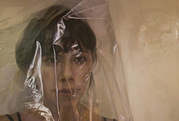 Alicia · Óleo sobre lienzo · 180cm X 136cm · 2012