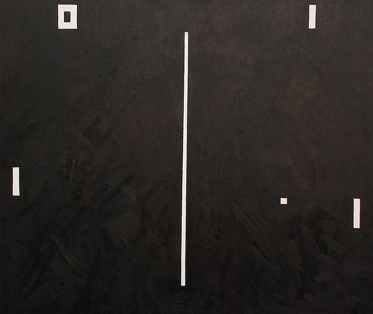 Autorretrato (pong) · Óleo sobre lino · 110cm X 130cm · 2009