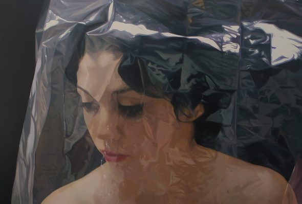 Blindaje espiritual · Óleo sobre lienzo · 120cm X 140cm · 2013