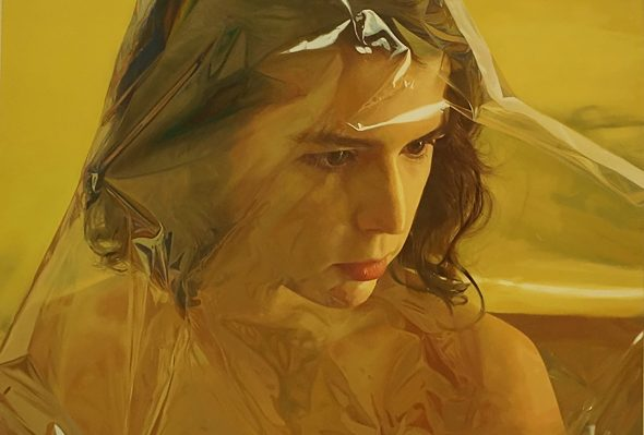 Golden Doll 1 · Óleo sobre lienzo · 200cm X 150cm · 2014