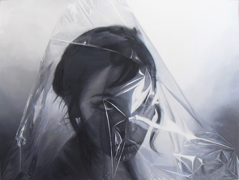 Gris/Dawn · Óleo sobre lienzo · 180cm X 136cm · 2014