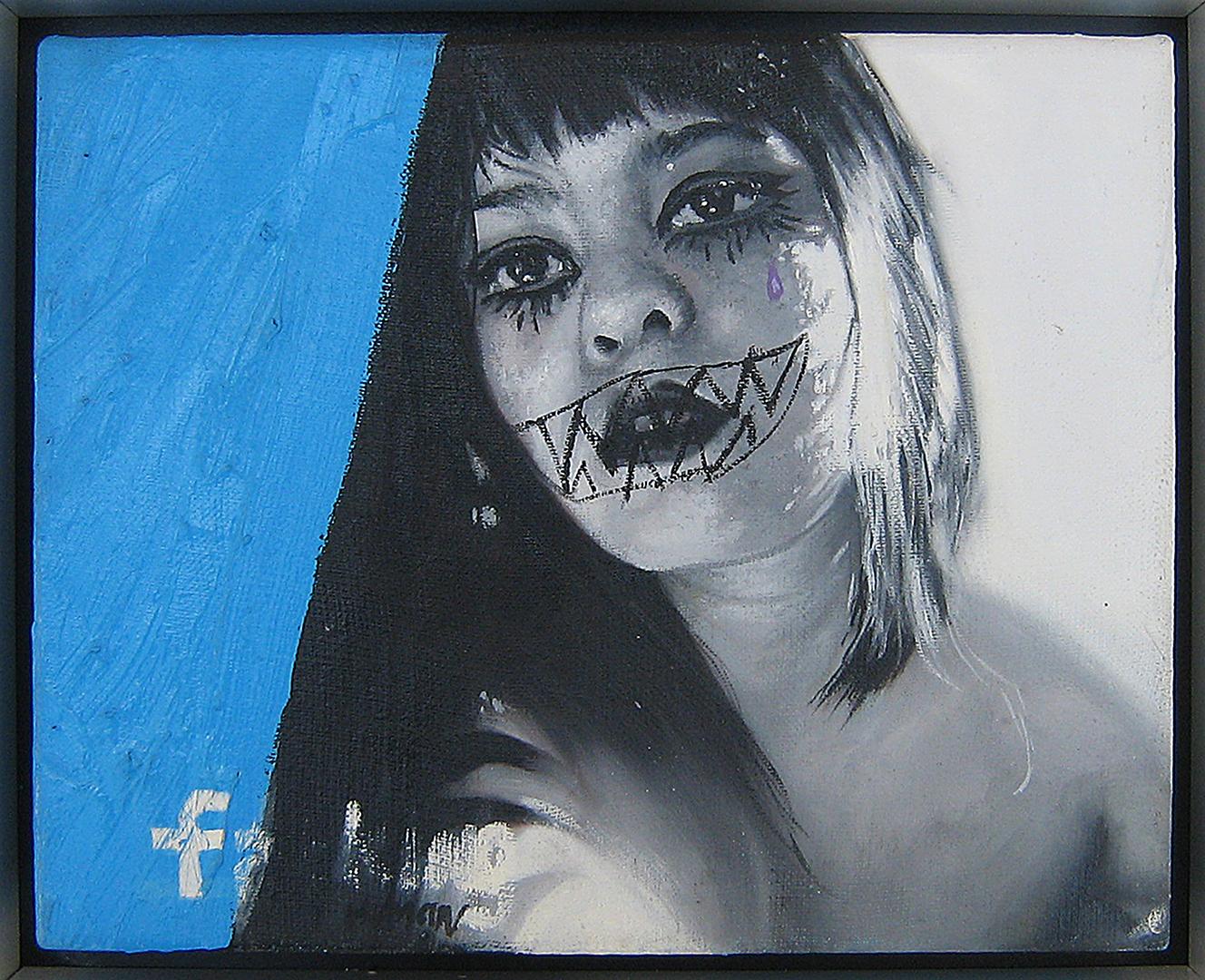 Human · Óleo sobre lino · 20cm X 25cm · 2010