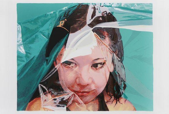 Empaque protector · Serigrafía sobre papel · Edición de 96 · 2010