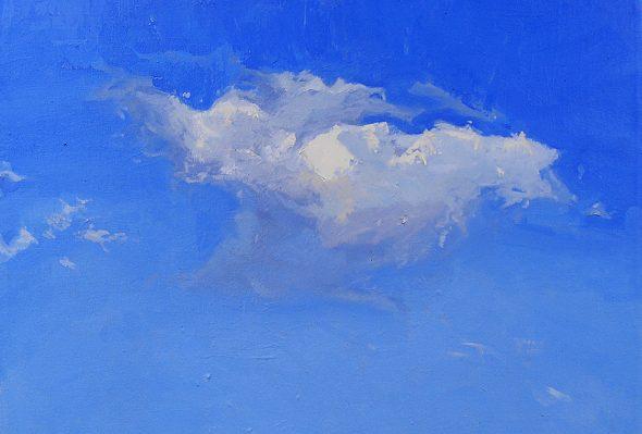 Nube 1 · Óleo sobre lienzo