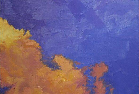 Nube 2 · Óleo sobre lienzo
