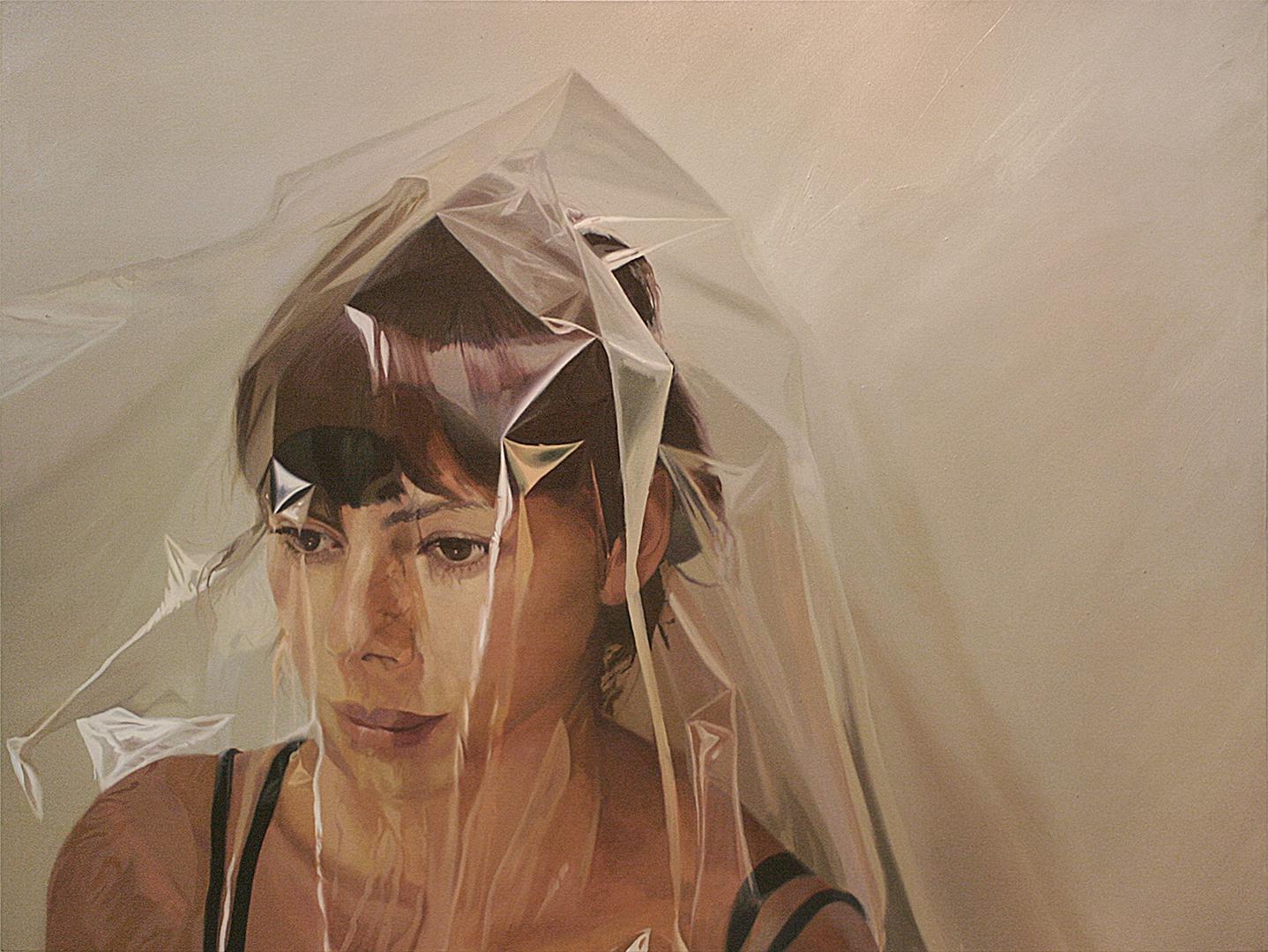Piel · Óleo sobre lienzo · 180cm X 136cm · 2010