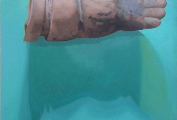 Reliquias 4 · Óleo sobre lienzo · 150cm X 120cm · 2013
