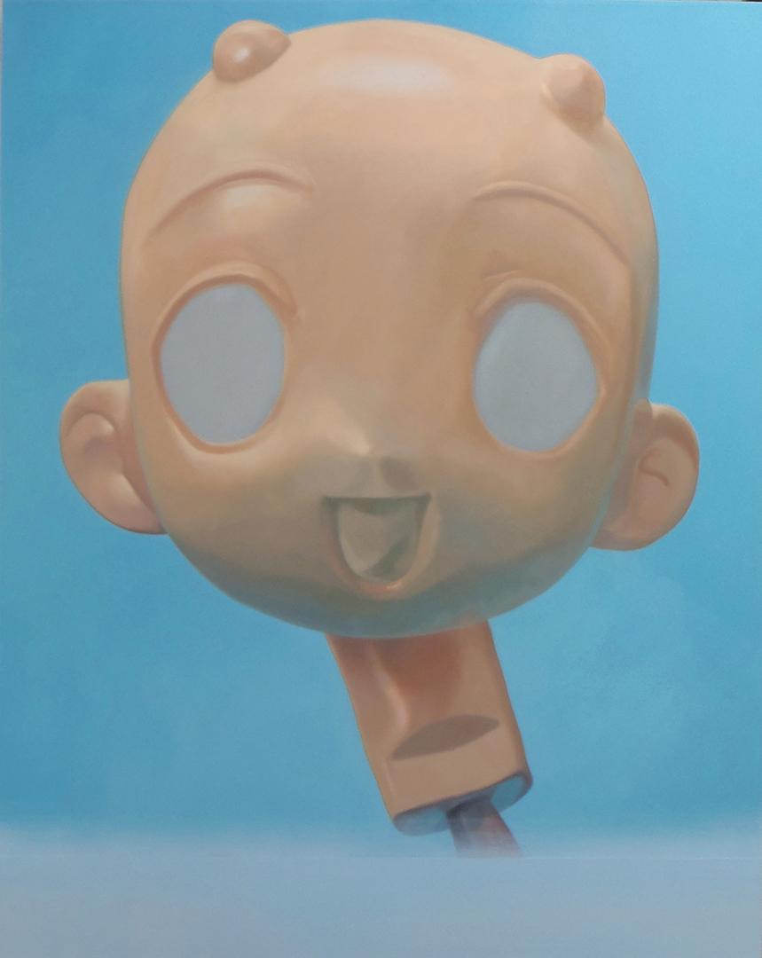 Doll 1 · Óleo sobre lienzo · 150cm X 120cm · 2013