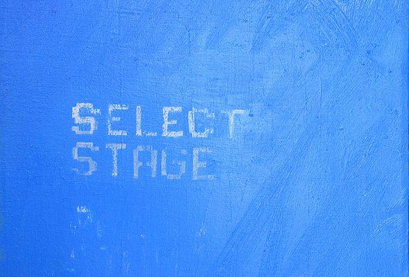Select stage · Óleo sobre lienzo · 35cm X 40cm · 2013