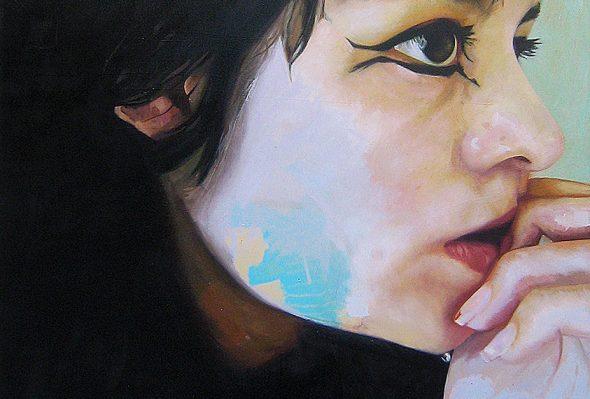 St · Óleo sobre lienzo · 130cm X 110cm · 2010