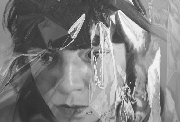 Silver doll · Óleo sobre lienzo · 130cm X 110cm · 2010
